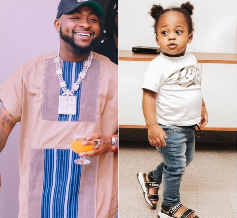 """Davido Names Him And Chioma's Son, Ifeanyi, As His """"Heir Apparent"""""""